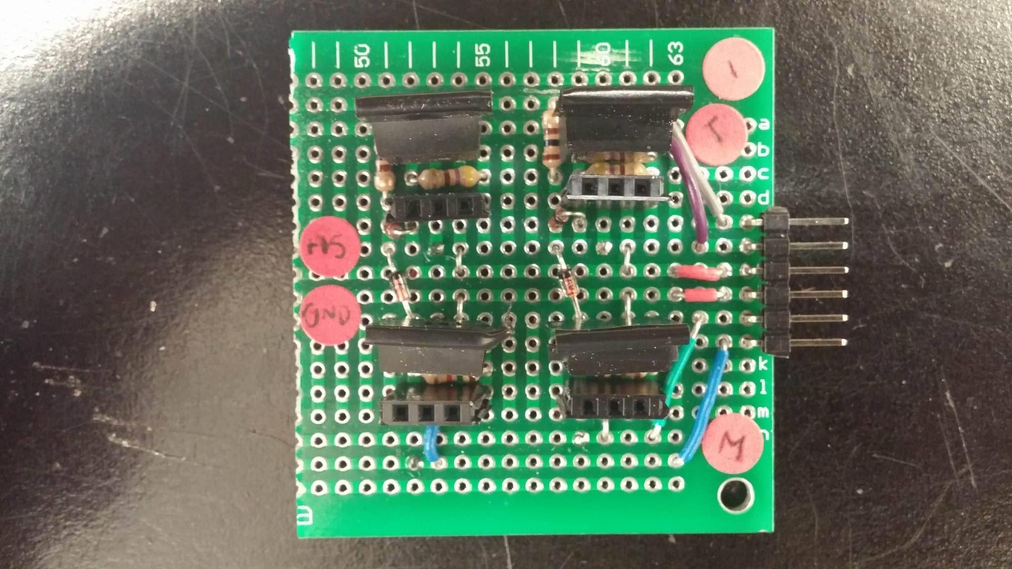 Electrical H Bridge Circuit Diagram Using Zener Diodes